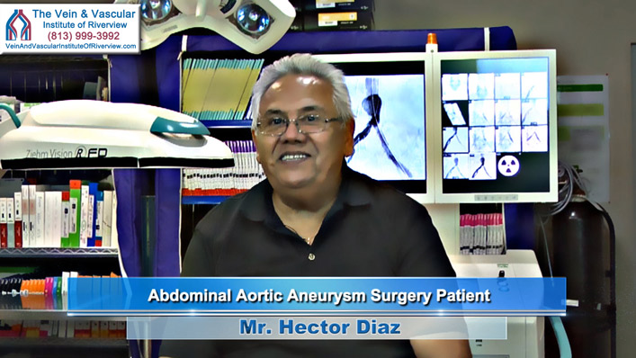Aneurysm Repair Riverview FL Patient Hector